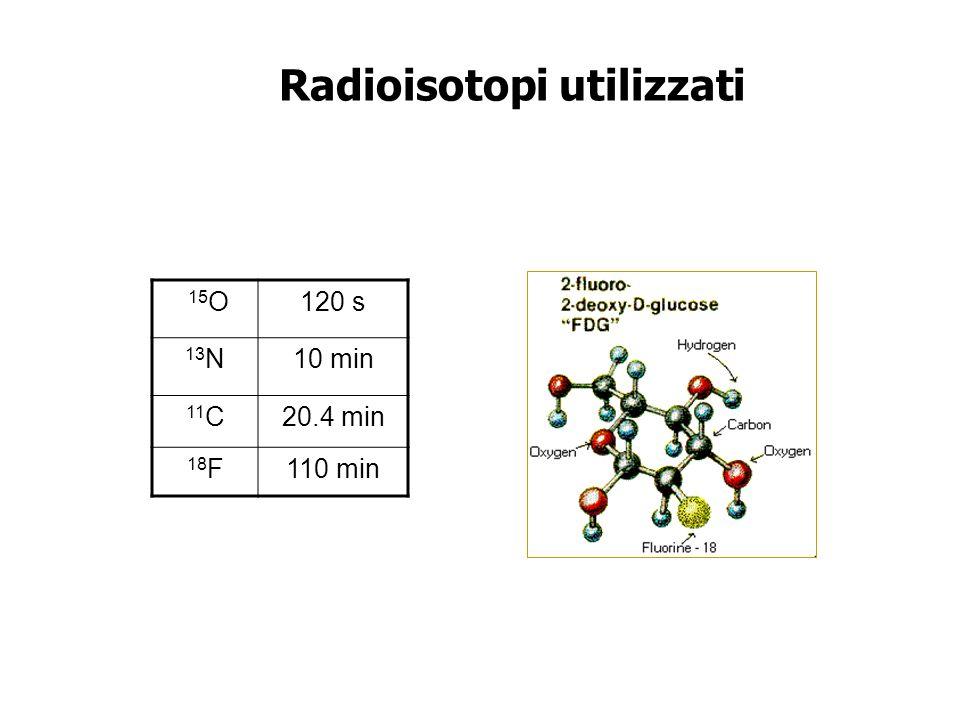 Radioisotopi utilizzati