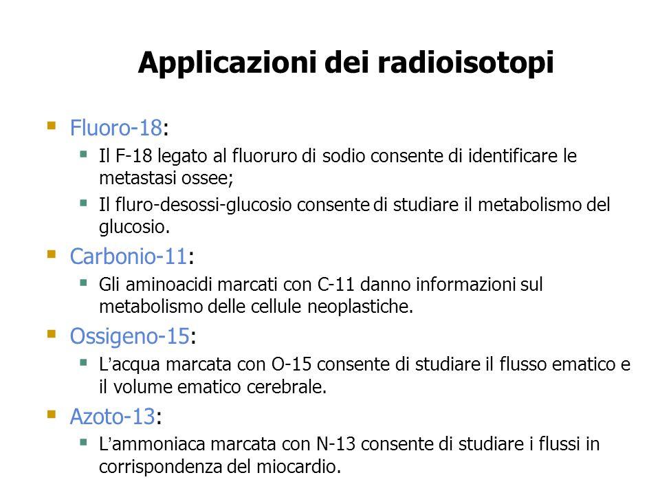 Applicazioni dei radioisotopi