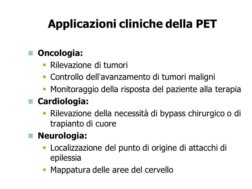 Applicazioni cliniche della PET