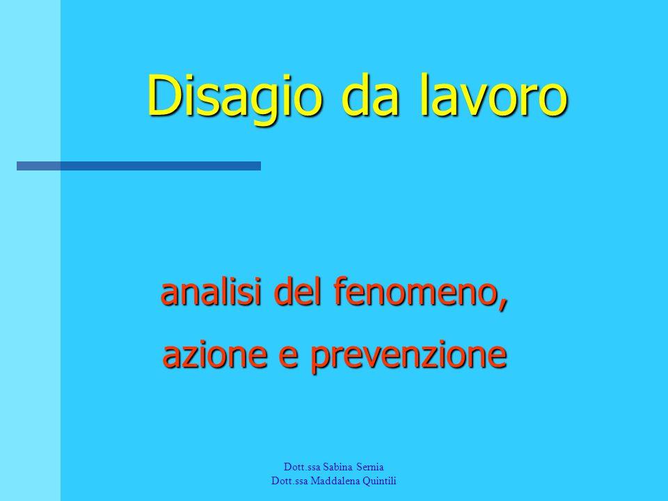 analisi del fenomeno, azione e prevenzione