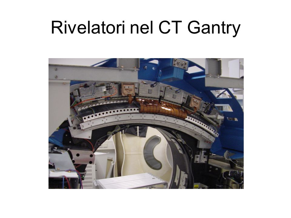 Rivelatori nel CT Gantry