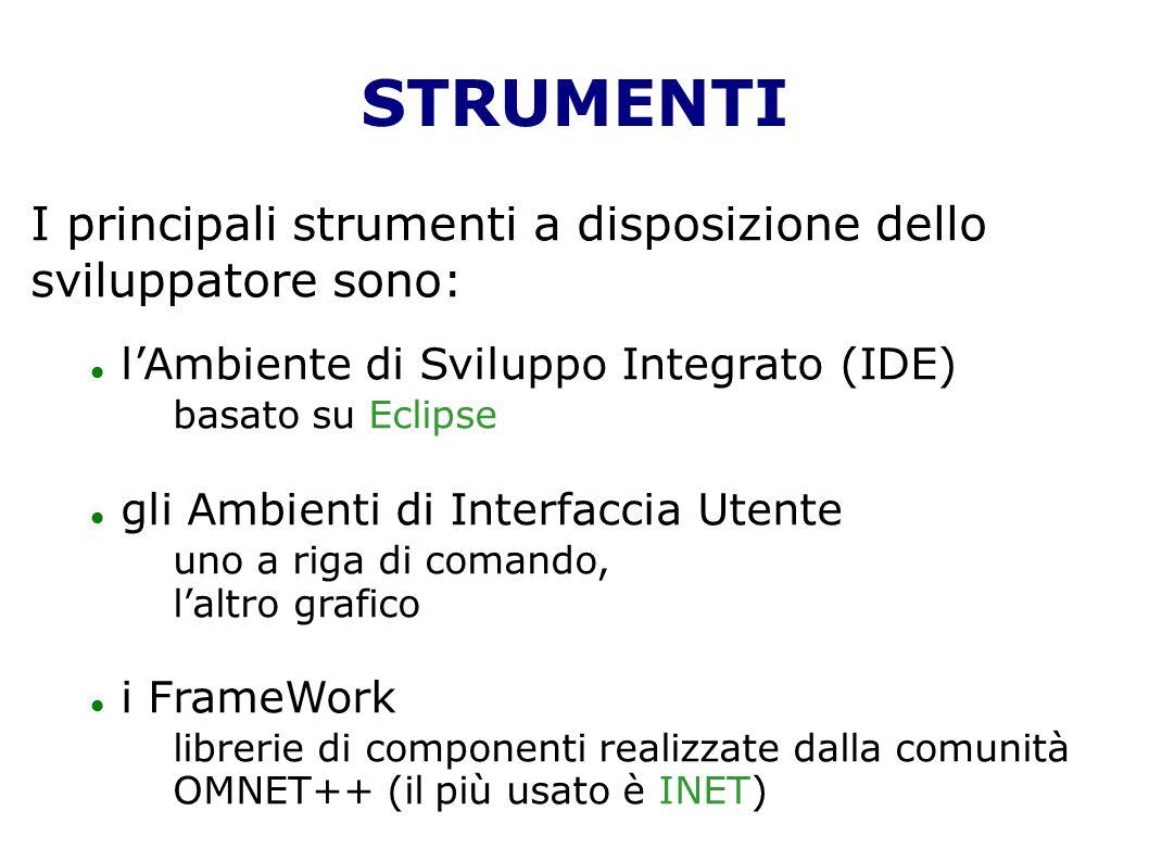 STRUMENTI I principali strumenti a disposizione dello sviluppatore sono: l'Ambiente di Sviluppo Integrato (IDE)