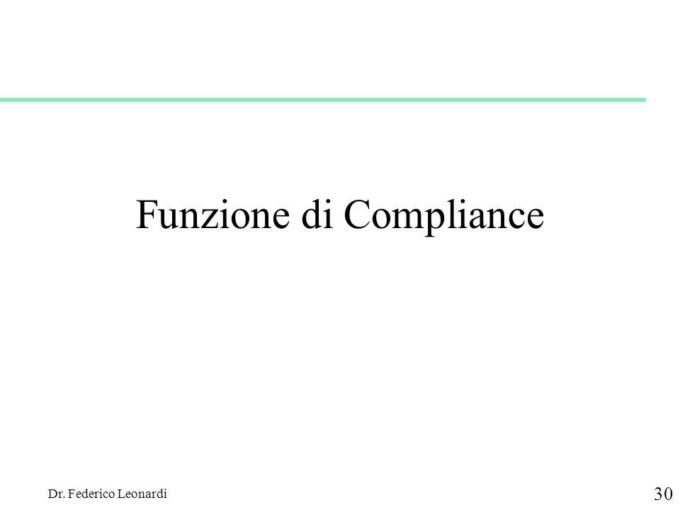 Funzione di Compliance
