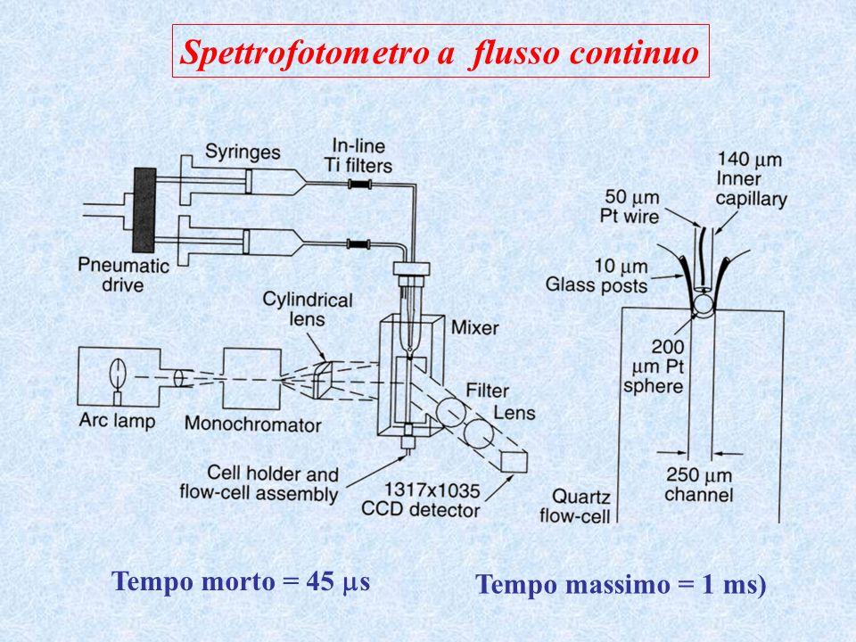 Spettrofotometro a flusso continuo