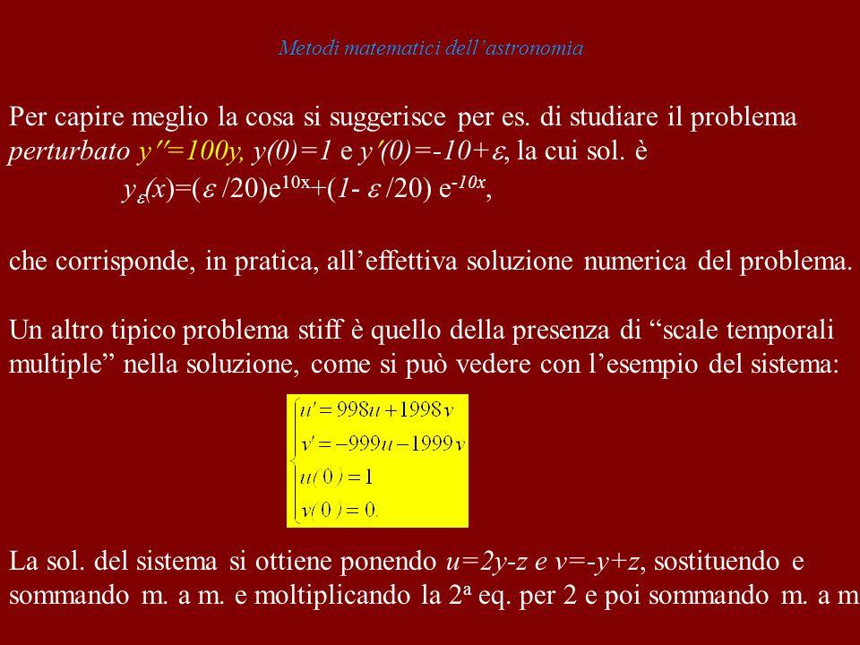 Metodi matematici dell'astronomia