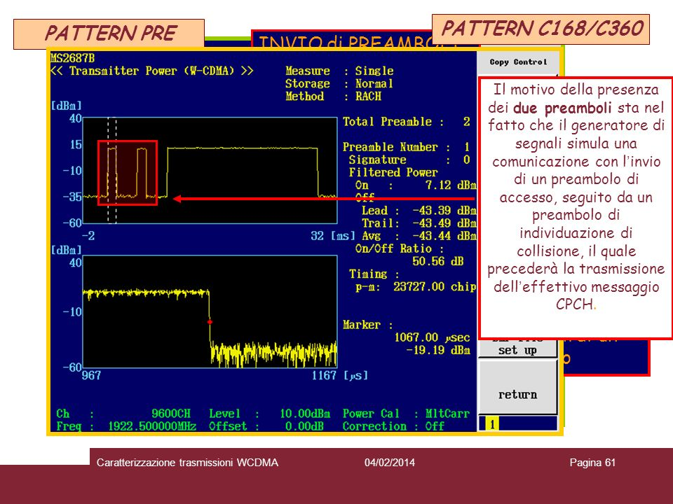 PATTERN C168/C360 PATTERN PRE