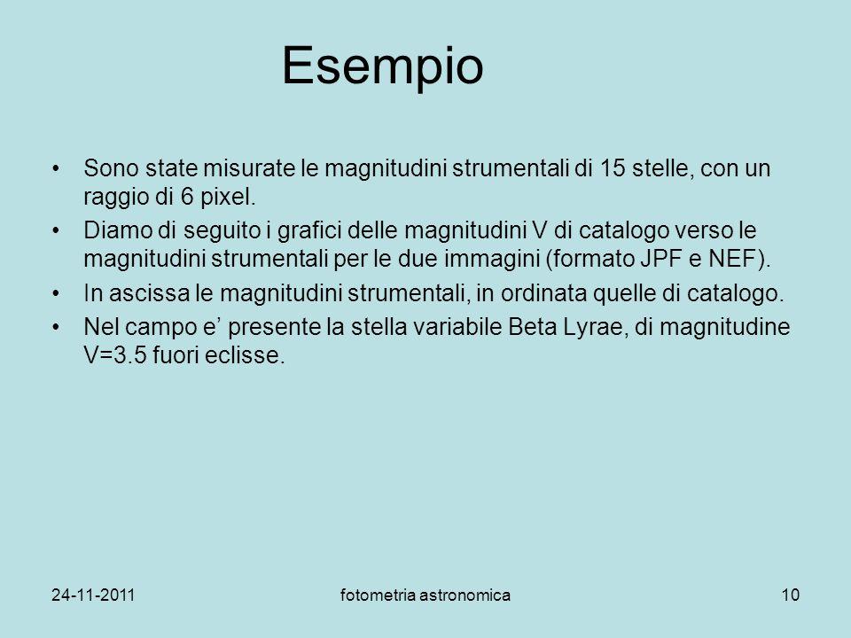 fotometria astronomica