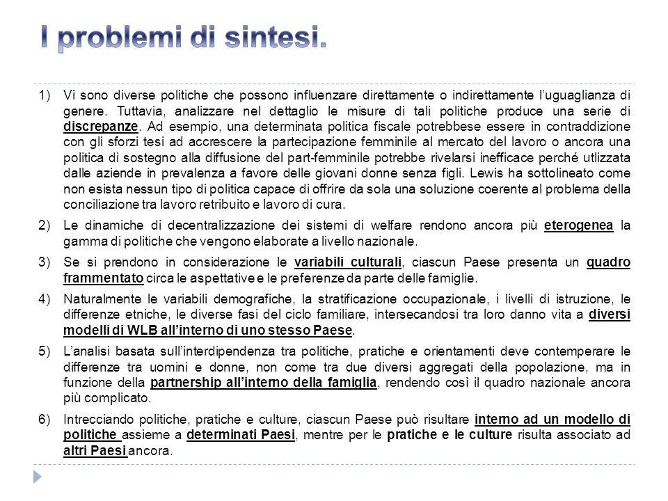 I problemi di sintesi.