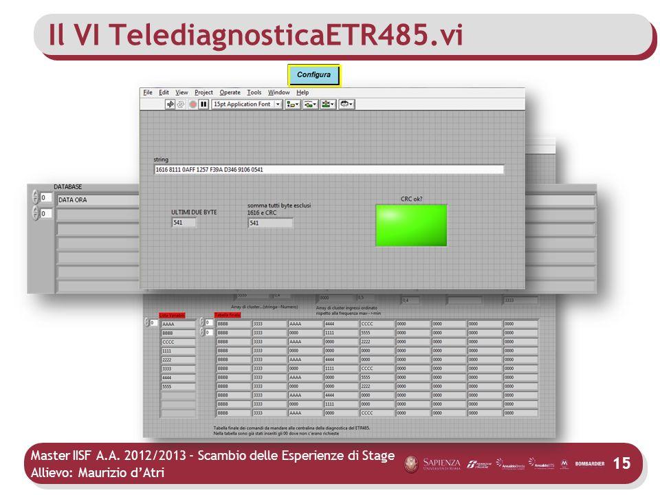 Il VI TelediagnosticaETR485.vi