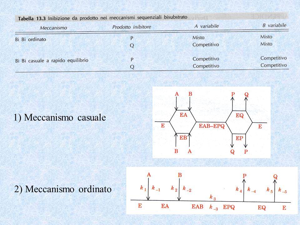 1) Meccanismo casuale 2) Meccanismo ordinato