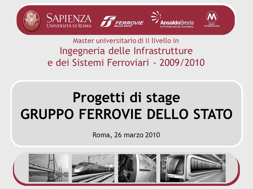 GRUPPO FERROVIE DELLO STATO