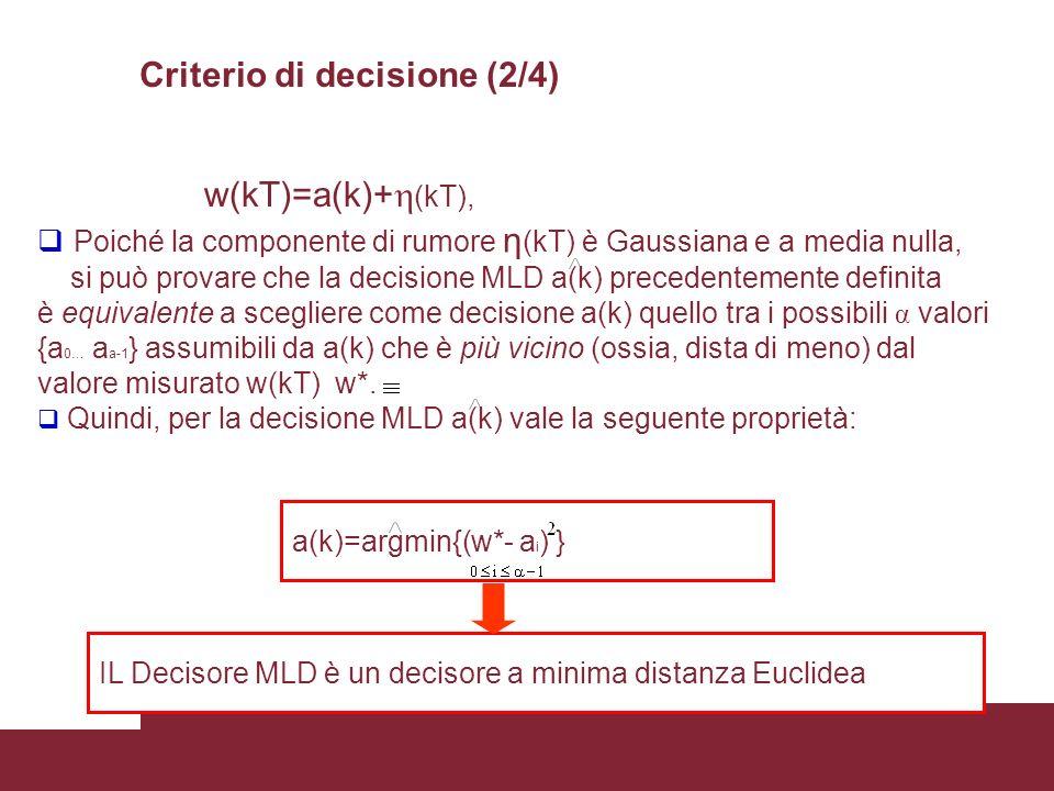 Criterio di decisione (2/4)