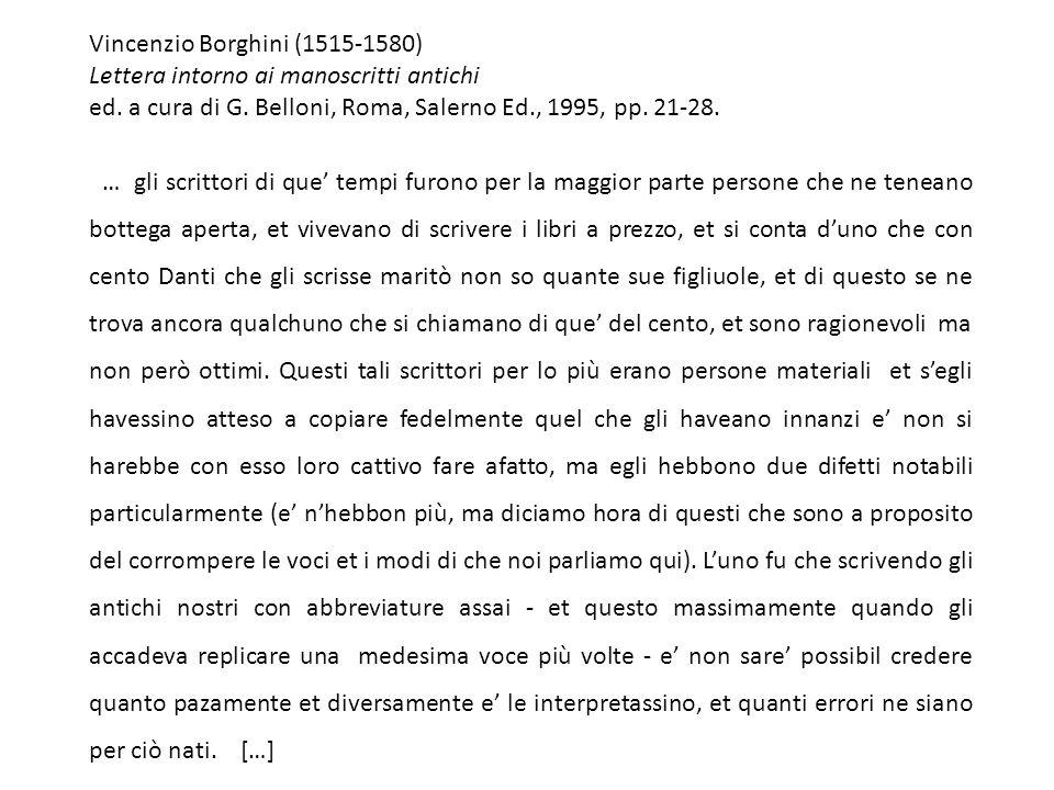 Vincenzio Borghini (1515-1580)