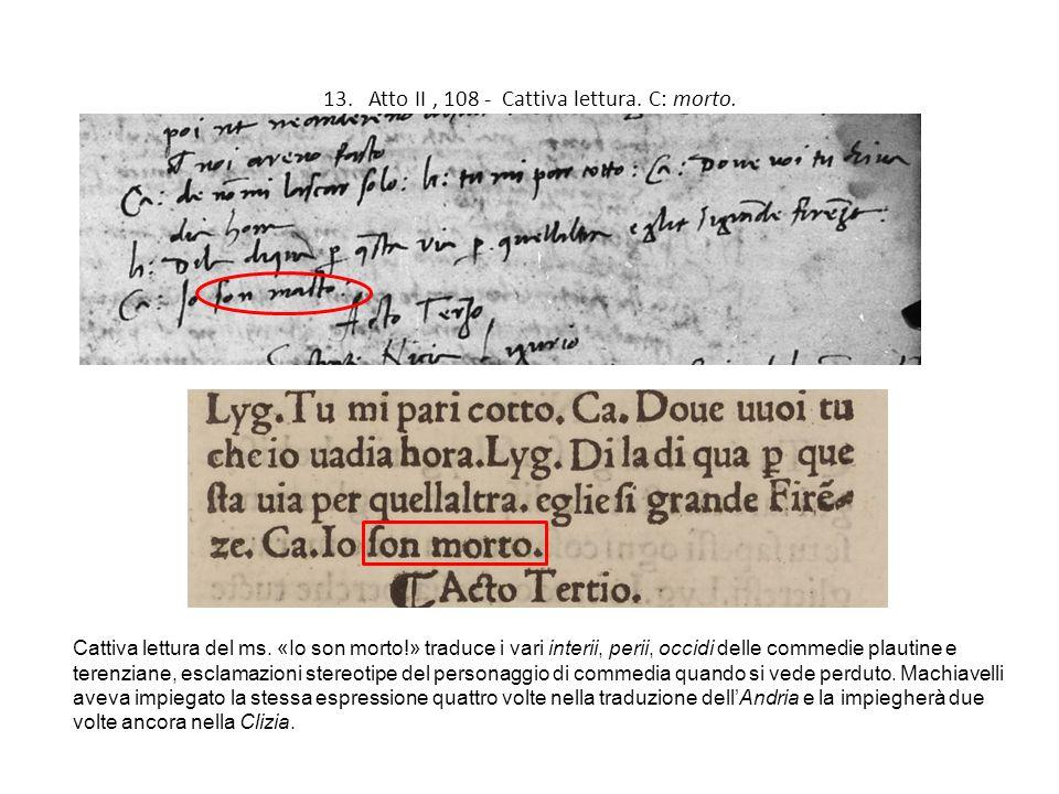 gli errori dei copisti l amanuense del ms laurenziano On atto di citazione notificato due volte