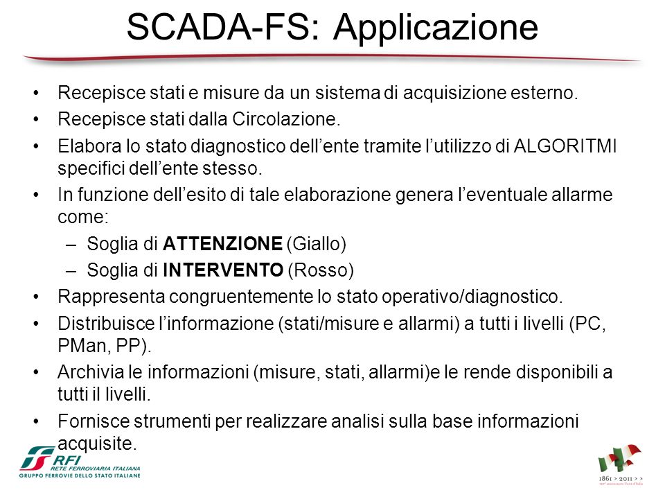 SCADA-FS: Applicazione