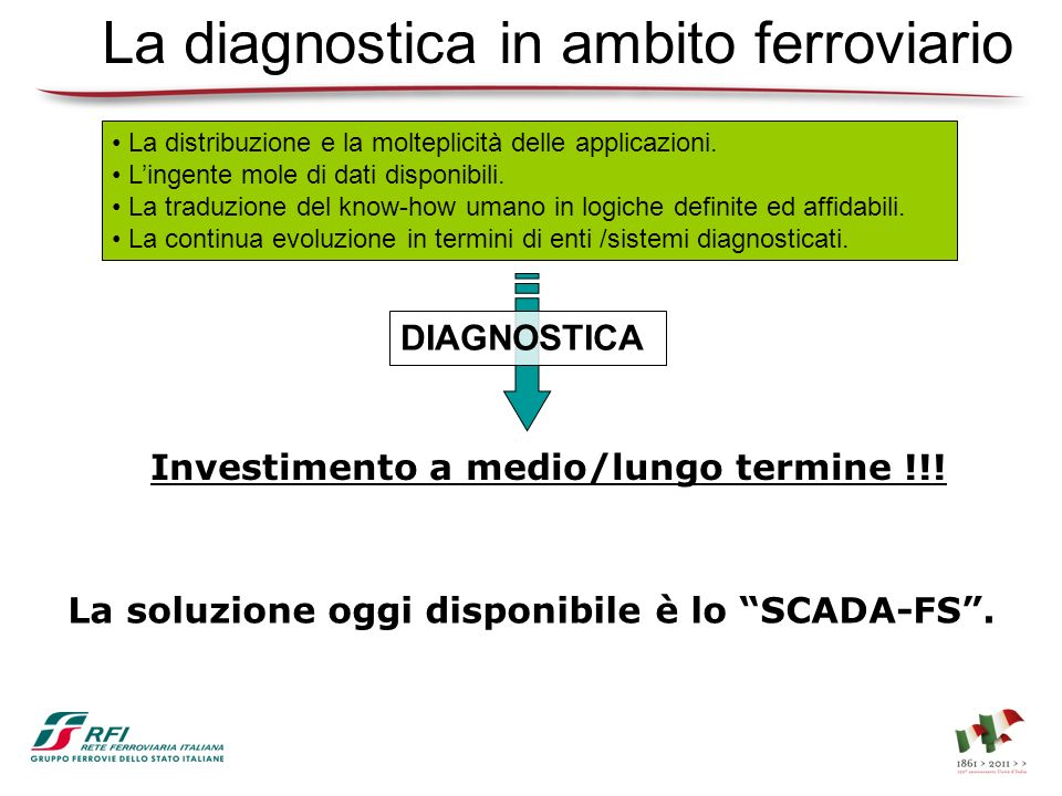 La diagnostica in ambito ferroviario