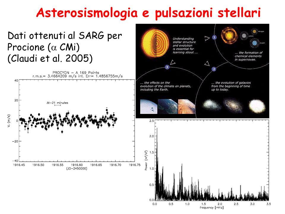 Asterosismologia e pulsazioni stellari