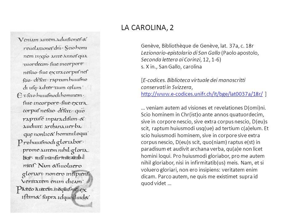 LA CAROLINA, 2