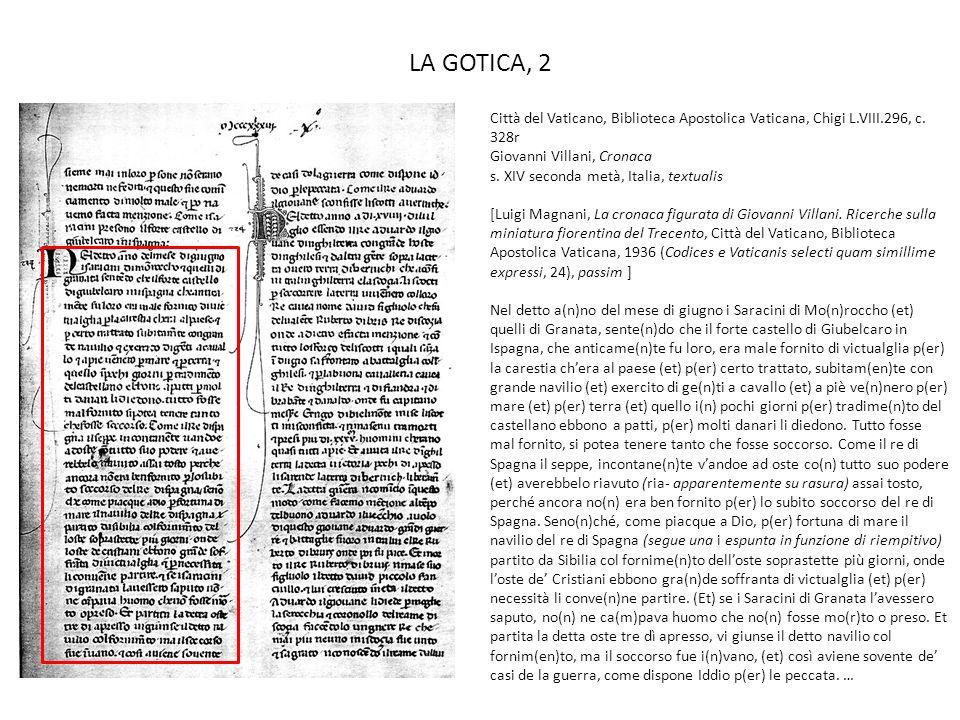 LA GOTICA, 2