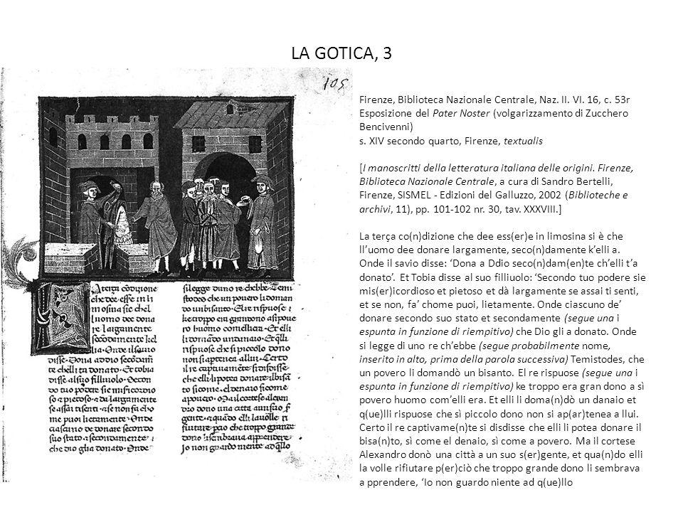 LA GOTICA, 3