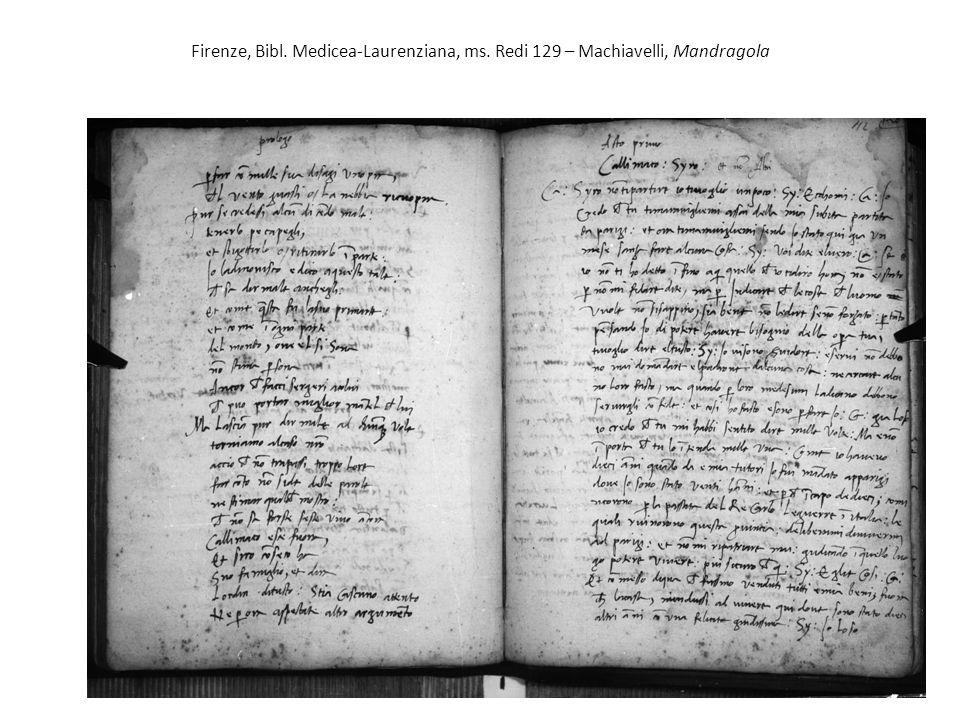 Firenze, Bibl. Medicea-Laurenziana, ms