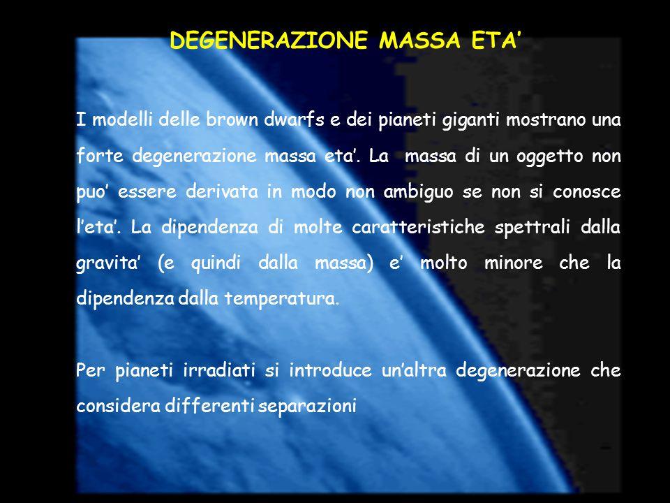 DEGENERAZIONE MASSA ETA'