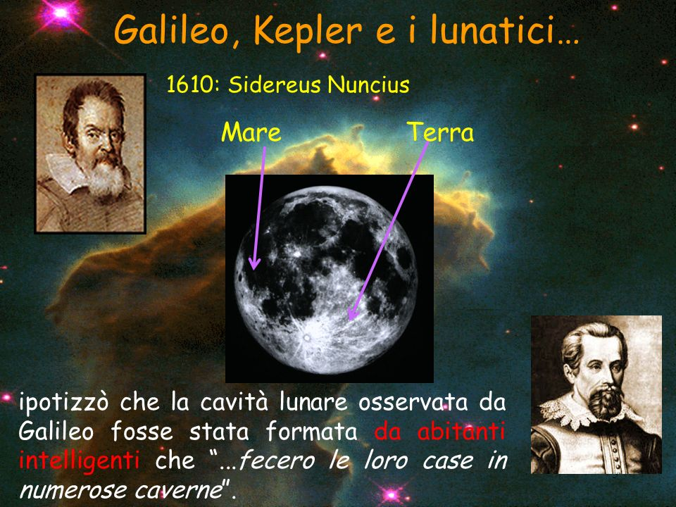 Galileo, Kepler e i lunatici…