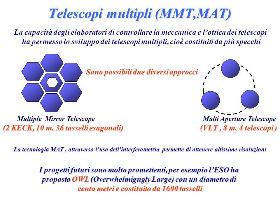 Telescopi multipli (MMT,MAT)