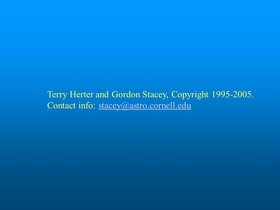Terry Herter and Gordon Stacey, Copyright 1995-2005
