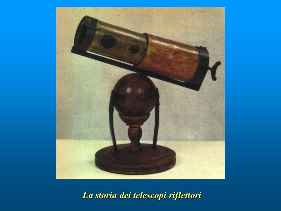 La storia dei telescopi riflettori