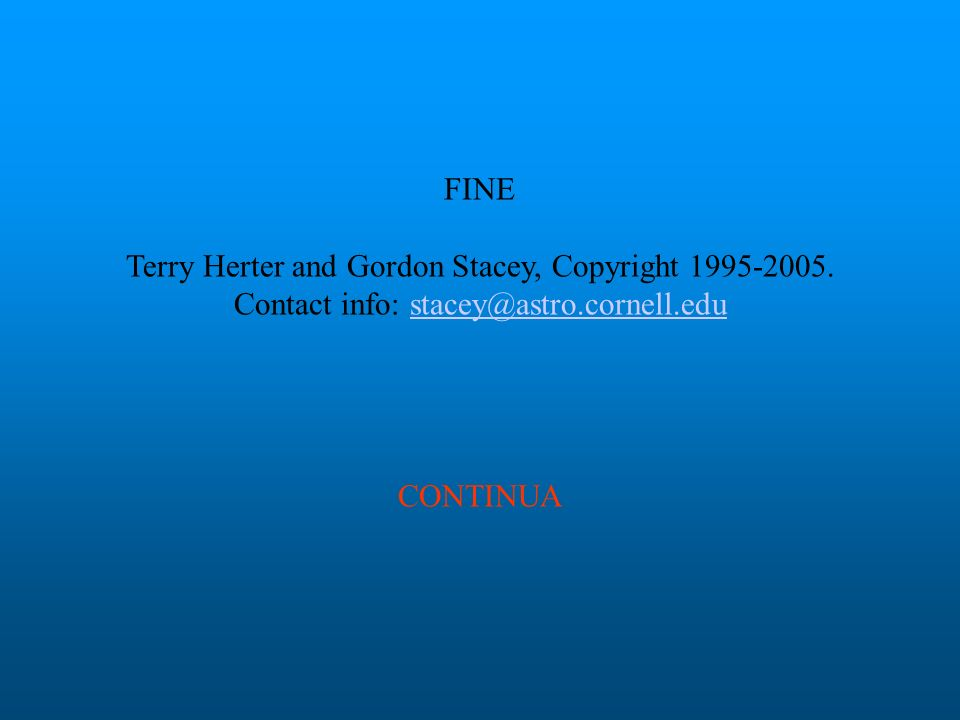 FINE Terry Herter and Gordon Stacey, Copyright 1995-2005.