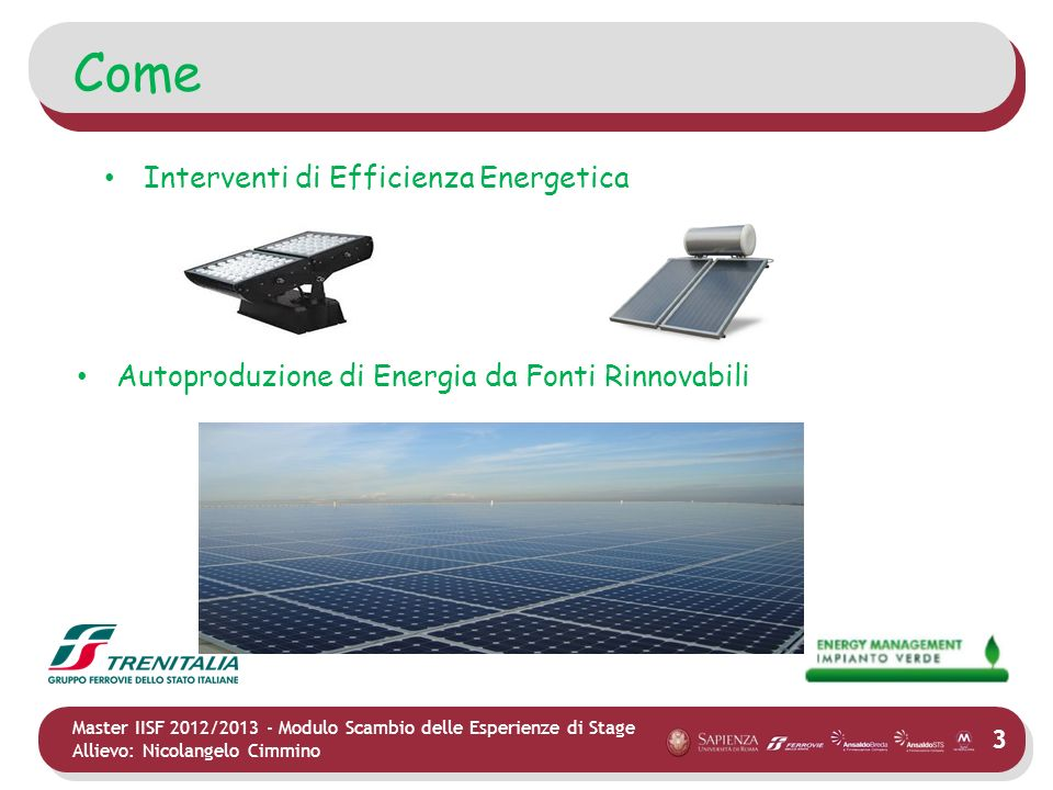 Come Interventi di Efficienza Energetica
