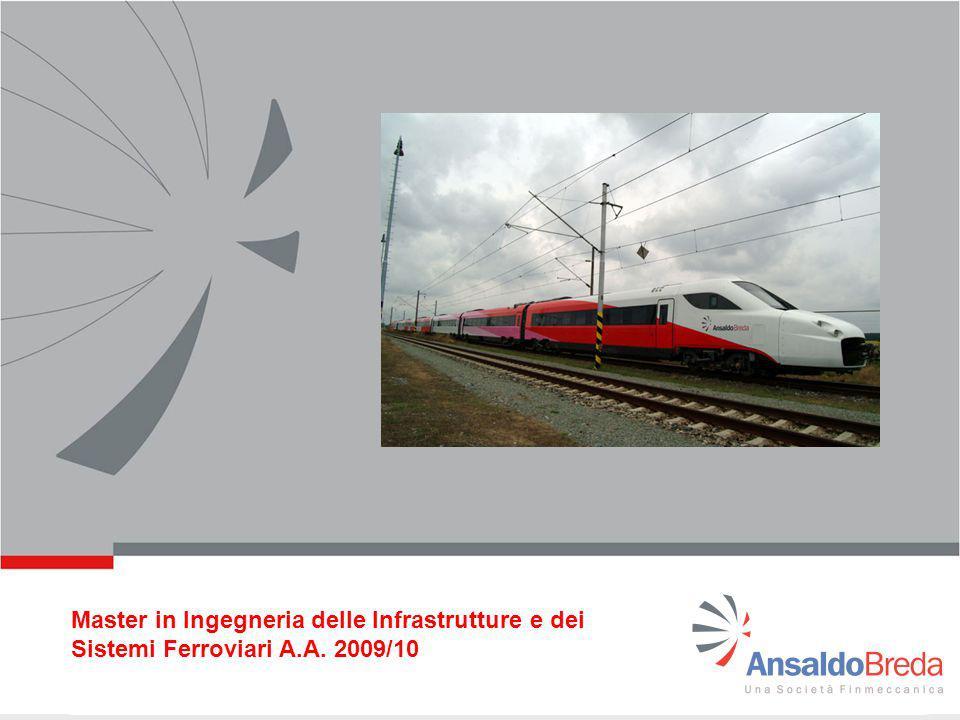 Master in Ingegneria delle Infrastrutture e dei Sistemi Ferroviari A.A. 2009/10