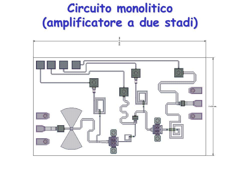 Circuito monolitico (amplificatore a due stadi)