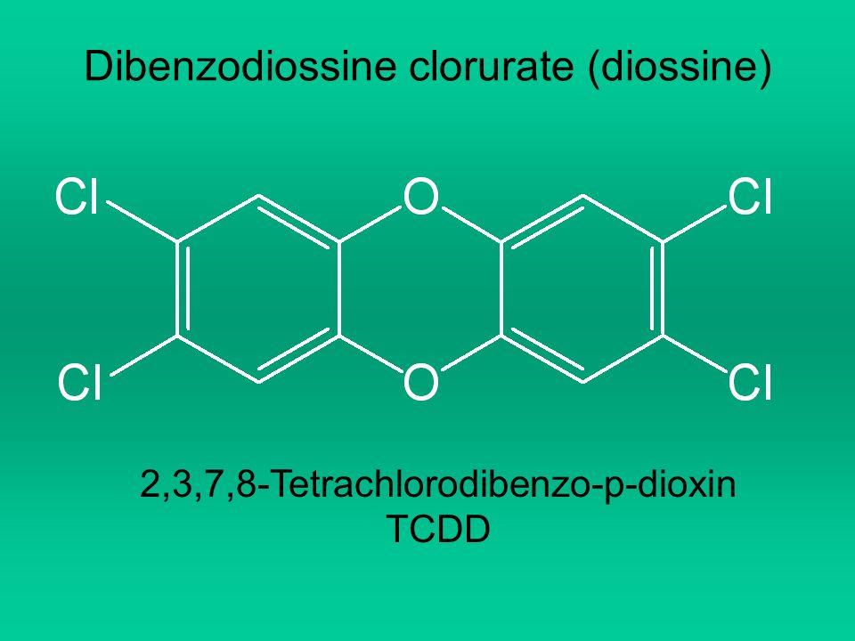 Dibenzodiossine clorurate (diossine)