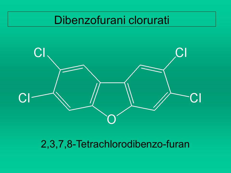 Dibenzofurani clorurati