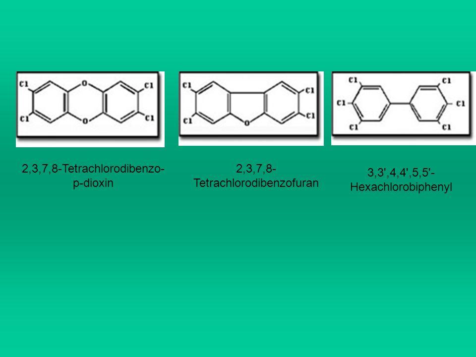 2,3,7,8-Tetrachlorodibenzo-p-dioxin 2,3,7,8-Tetrachlorodibenzofuran