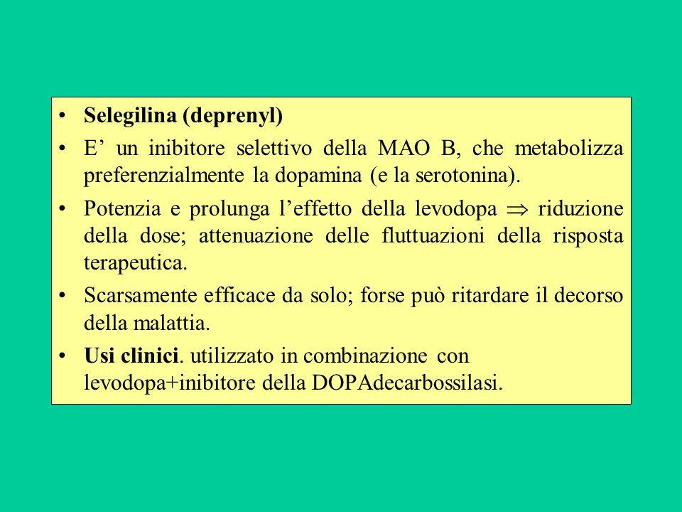 Selegilina (deprenyl)