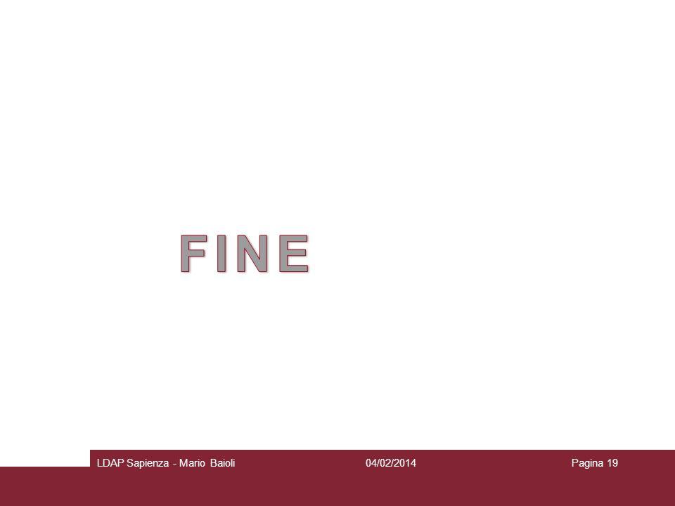 FINE LDAP Sapienza - Mario Baioli 27/03/2017