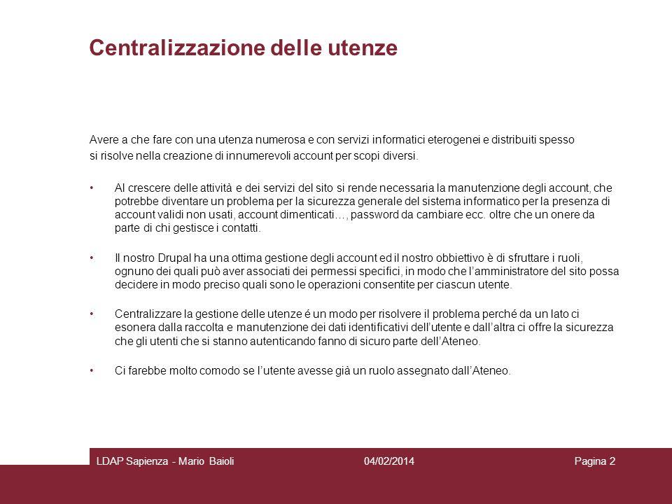 Centralizzazione delle utenze