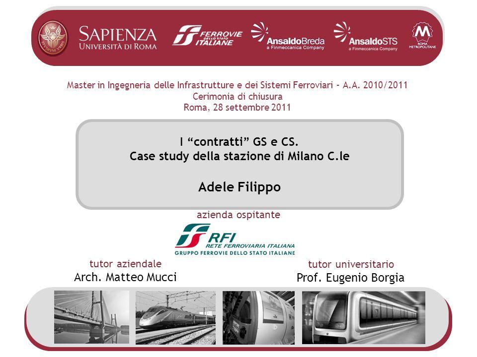 Case study della stazione di Milano C.le