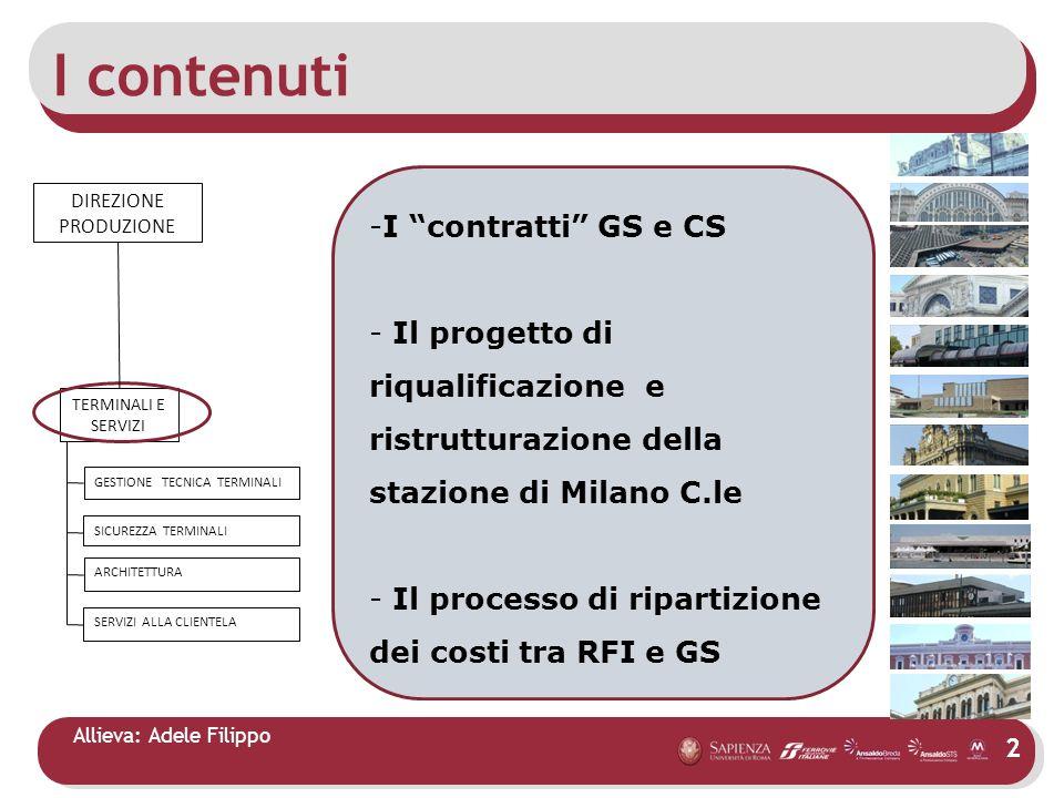 I contenuti I contratti GS e CS