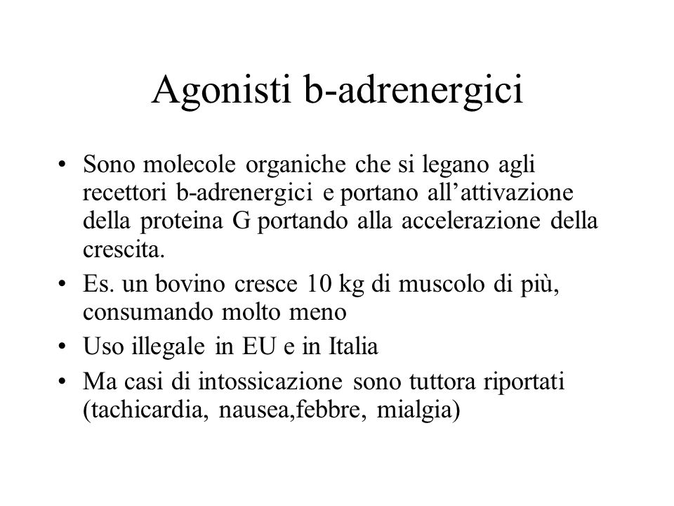 Agonisti b-adrenergici