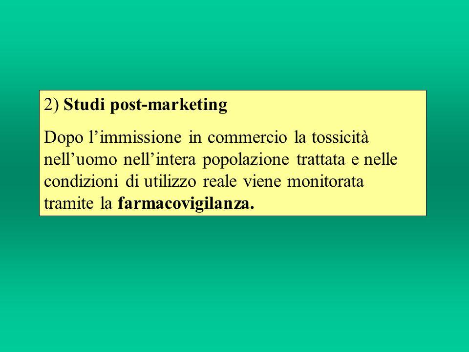 2) Studi post-marketing