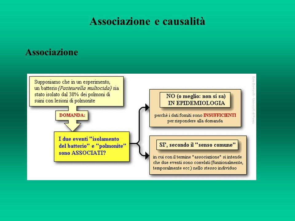 Associazione e causalità