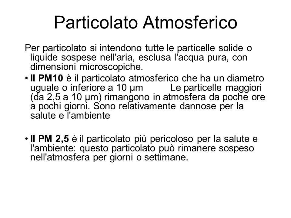 Particolato Atmosferico