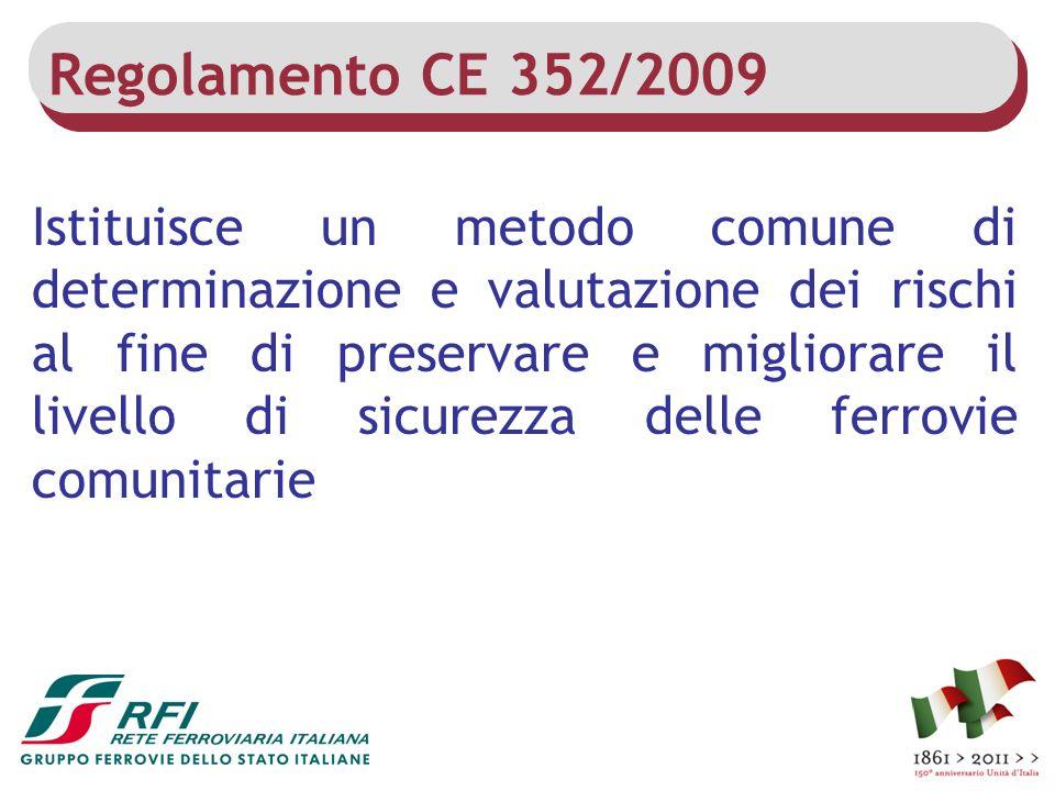 Regolamento CE 352/2009