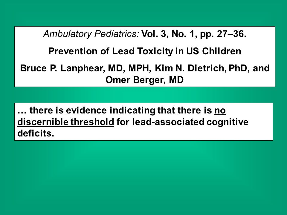 Ambulatory Pediatrics: Vol. 3, No. 1, pp. 27–36.