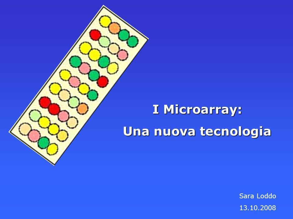 I Microarray: Una nuova tecnologia