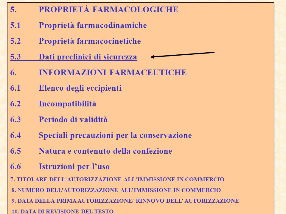 5. PROPRIETÀ FARMACOLOGICHE 5.1 Proprietà farmacodinamiche